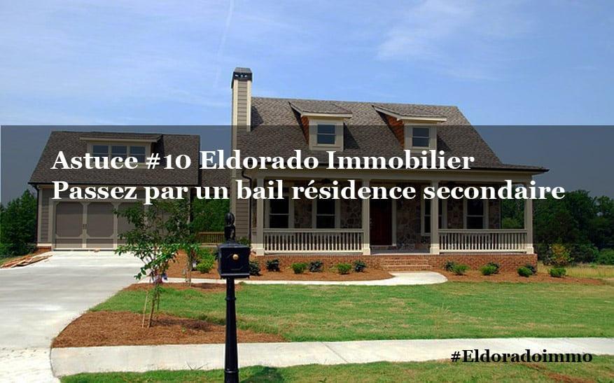 bail residence secondaire code civil