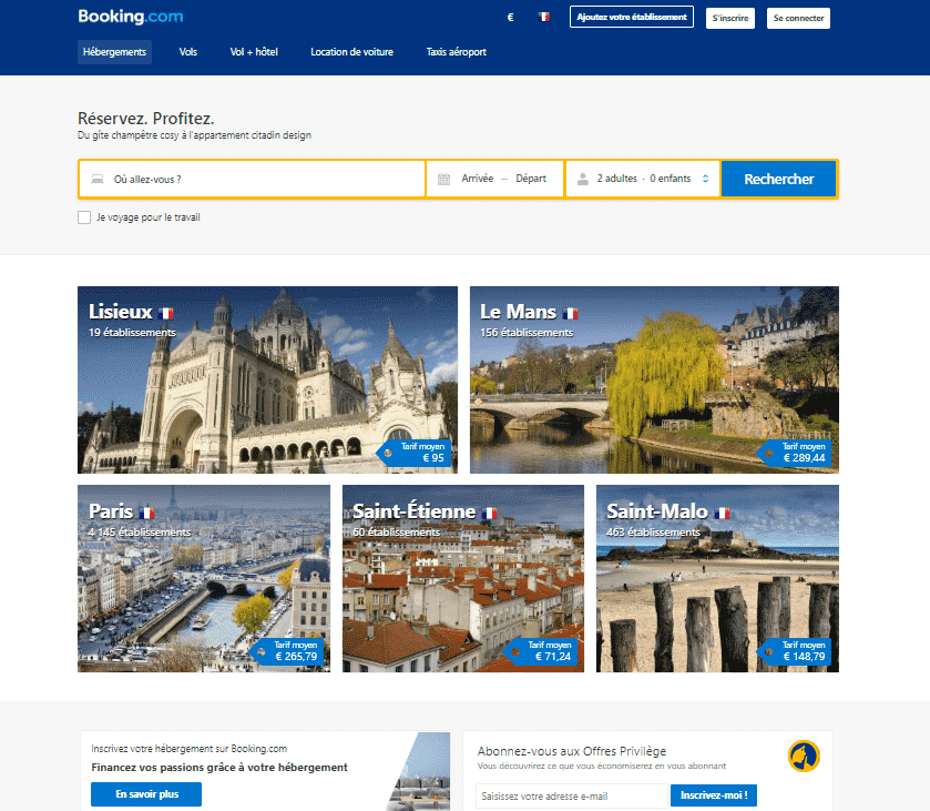 Site de r servation en ligne booking eldorado immobilier for Site de location