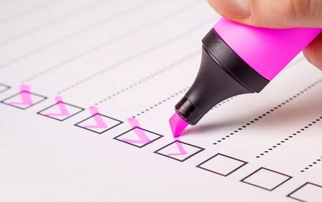 checklist-location courte durée