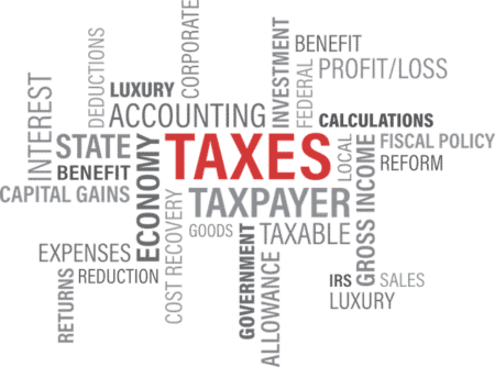 formulaire impot taxes