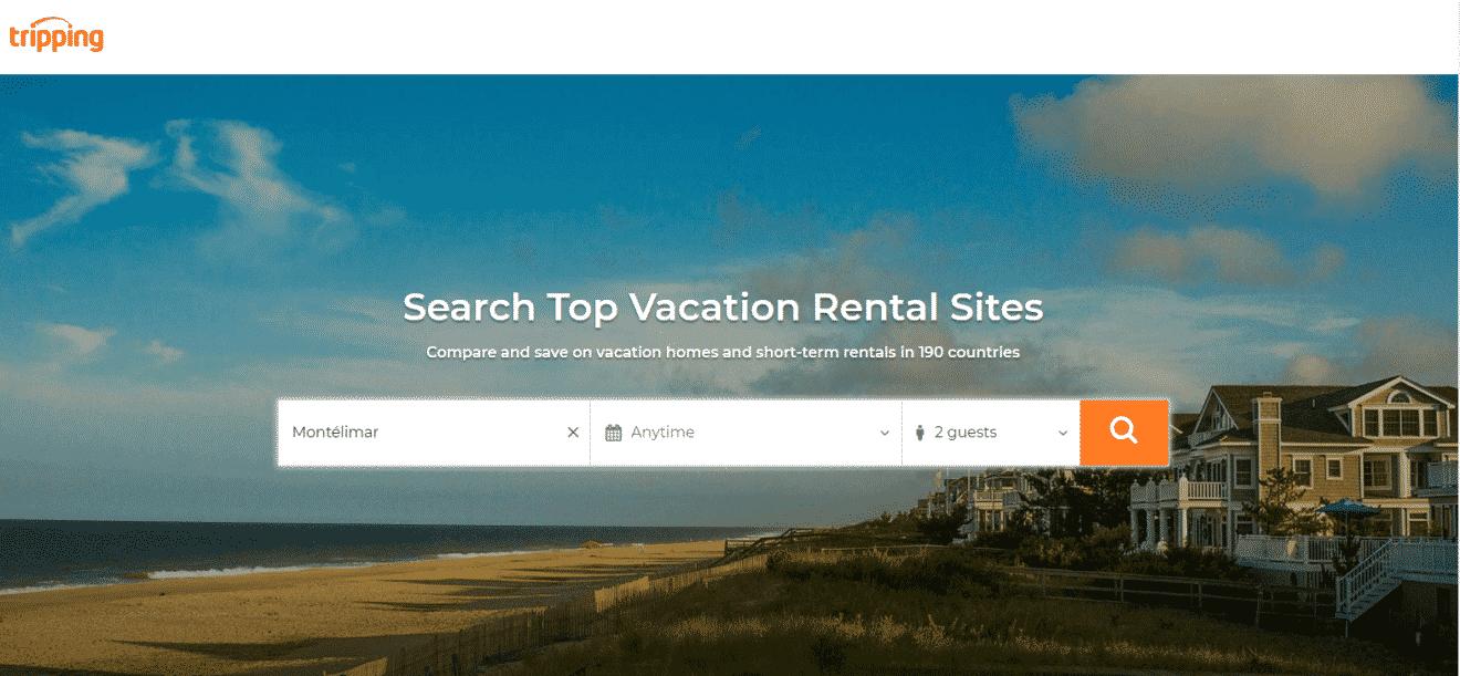 tripping com agrégateur locations de vacances