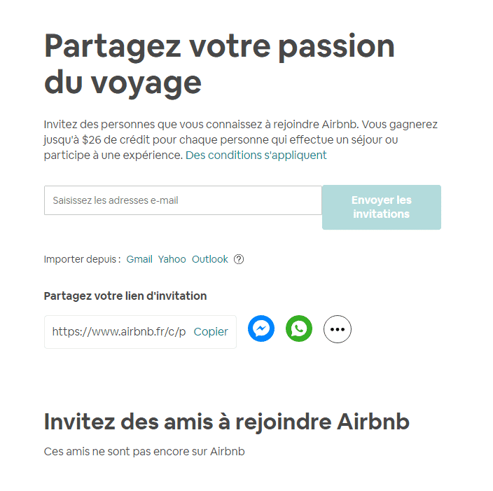 passion voyage credits airbnb
