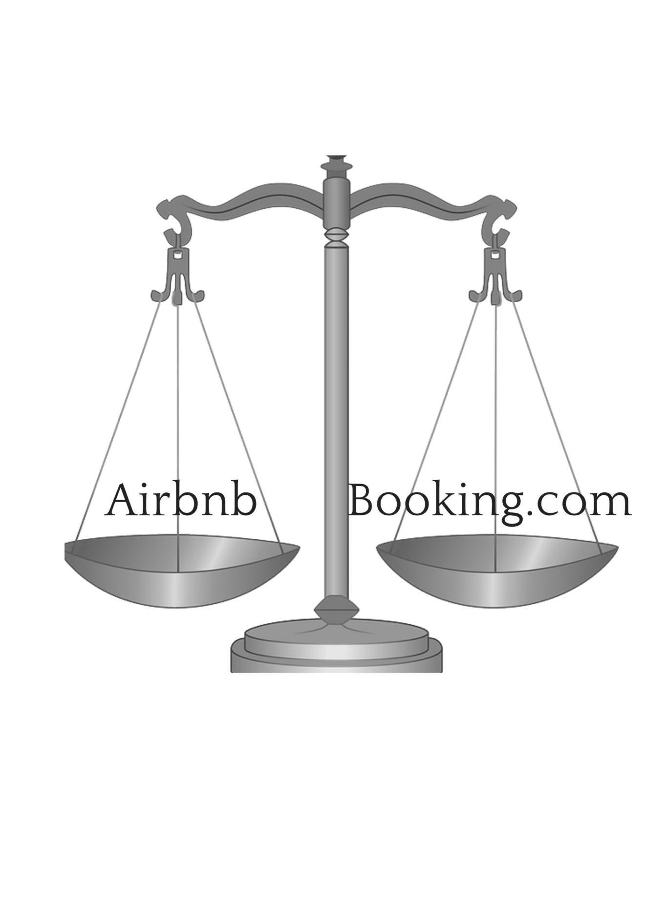 Comparaison Airbnb et booking