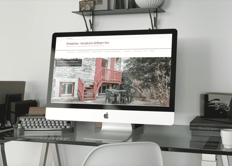 créer site internet location saisonnière