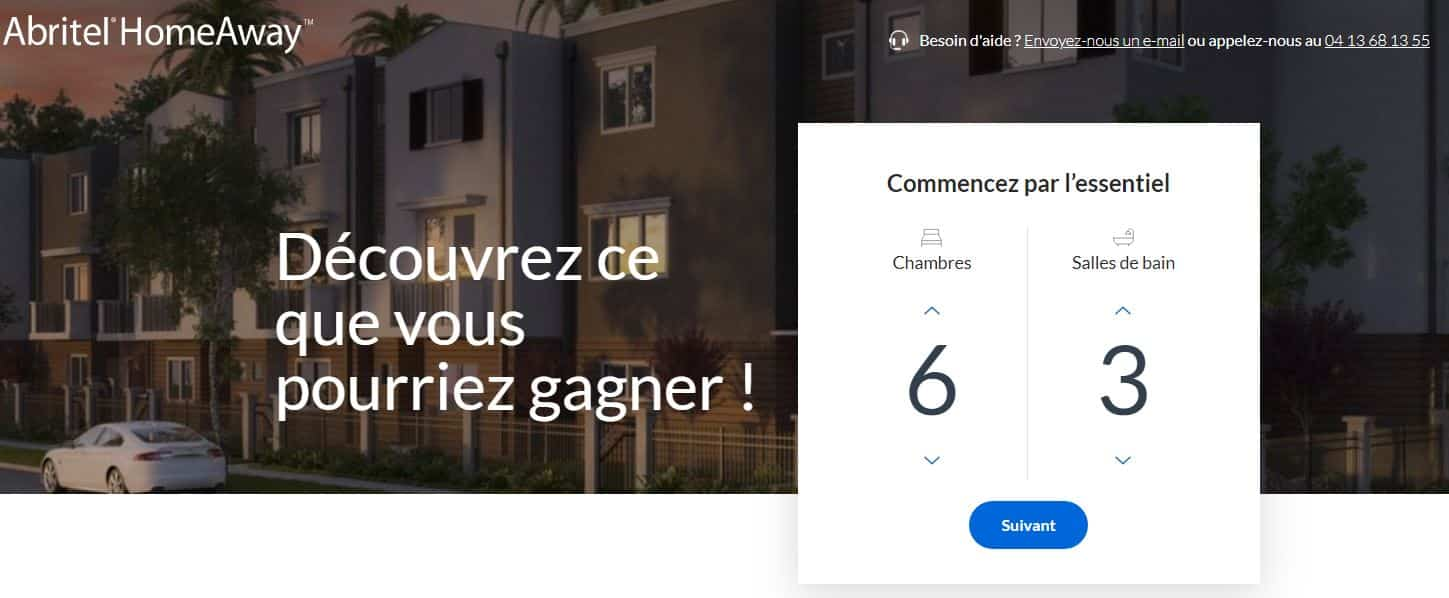 Inscription annonce Abritel Homeaway