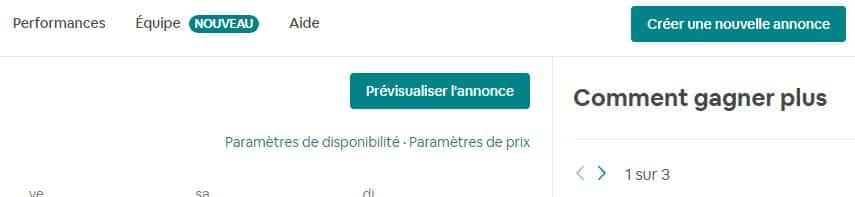 """en haut à droite, cliquez sur """"Paramètres de disponibilité"""" puis sur """"Exporter le calendrier"""" dans le paragraphe Synchronisation des calendriers"""