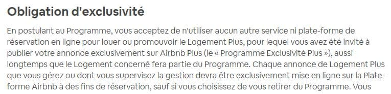 Programme Airbnb plus