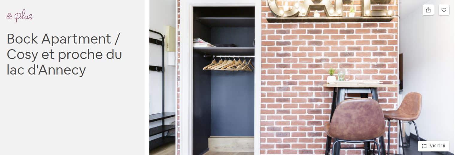 Le design d'Airbnb Plus est attractif