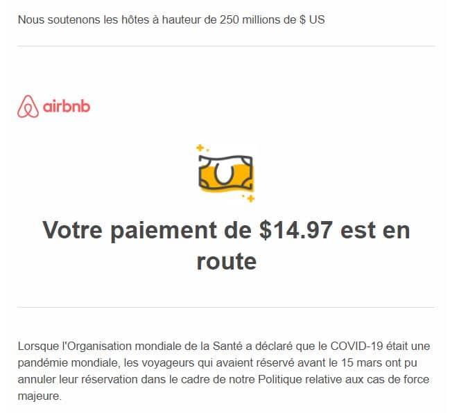 aide airbnb covid19 coronavirus