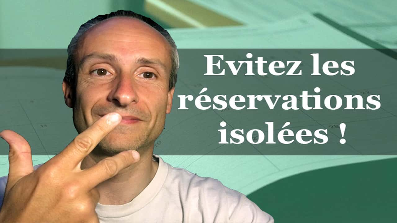YT eviter reservations isolées
