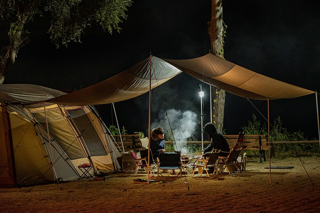 glamping, definition