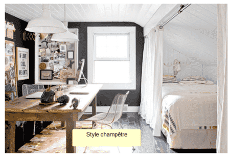 dortoir dans un studio
