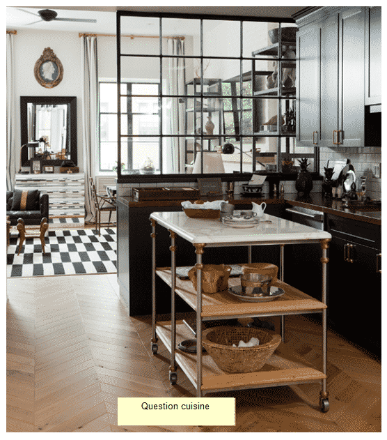 cuisine dans un studio