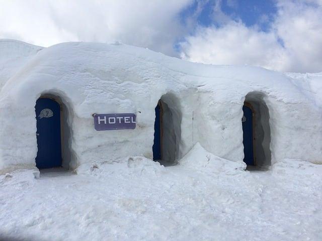location igloo sur airbnb
